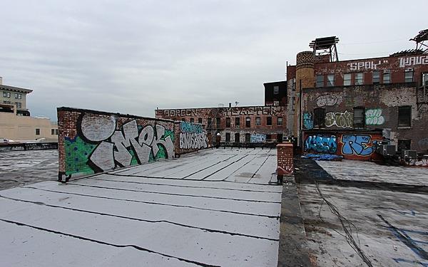 Large Dumbo Rooftop Overlooking Hudson