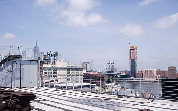 Dumbo Rooftop with Manhattan Bridge Views