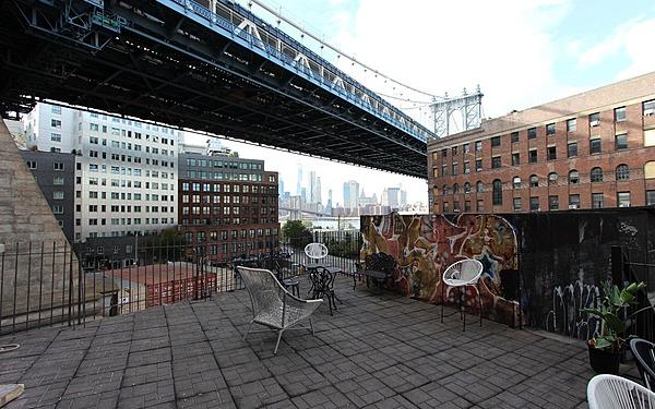 Dumbo Balcony Directly Adjacent to Manhattan Bridge