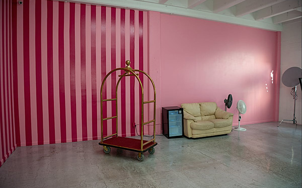 Hill 5 - Pink Wall