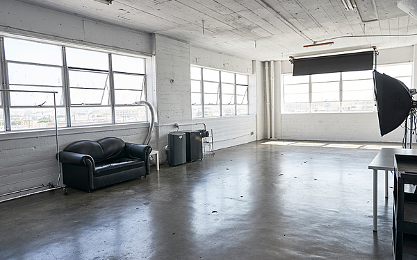 Stage A - Day-light studio with large windows