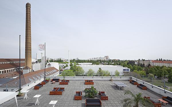 Amazing Rooftop in Neukölln