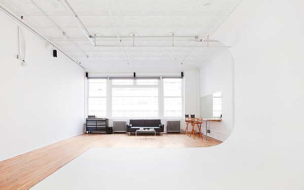 Tribeca Cyc Studio with Lots of Natural Light