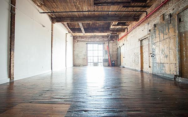 Greenpoint - Studio 510 - 1000sf - Industrial Loft