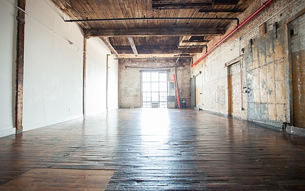 Greenpoint - Studio 510 - 1000sf - Industrial Loft