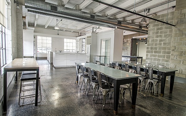 Ground Floor, Kitchen Studio with Prep Kitchen Included