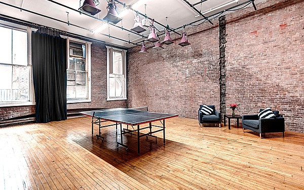 Union Square Studio w/ brick wall
