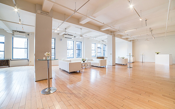 Light Filled White-on-White Loft
