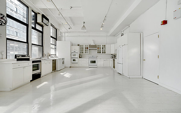 Loft 9  | Fully-functional kitchen | White kitchen