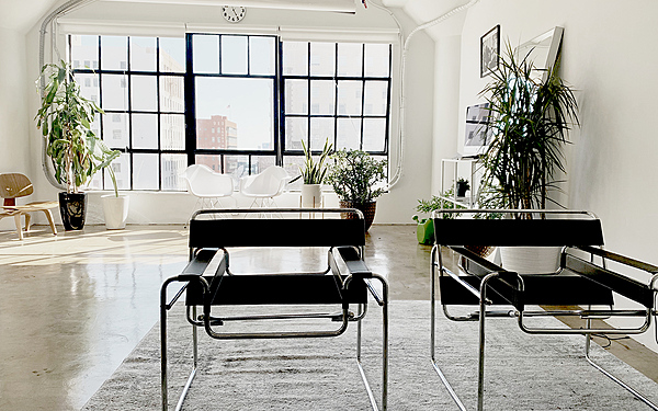 Stylist boutique DTLA loft.
