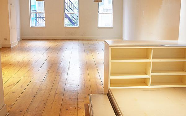 Wide Plank Oak Floor LOFT with Lots of Light