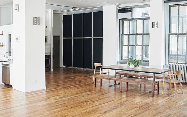 Wood Floor & Kitchen Studio 7 - NOMAD