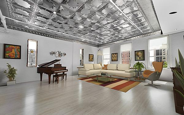 Upscale Tin Roof Daylight Loft Studio