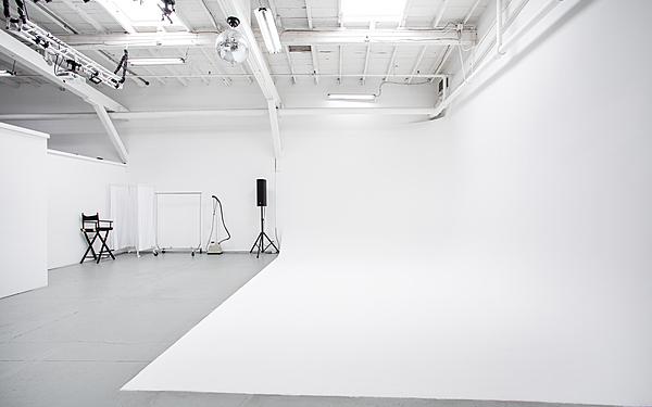 Cyc Wall Studio with Dual Skylights